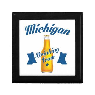 Michigan Drinking team Gift Box