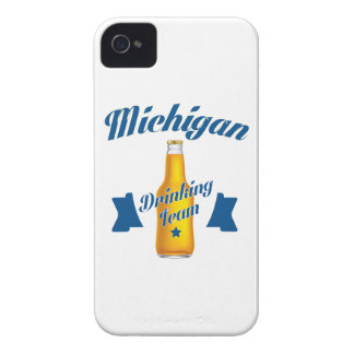 Michigan Drinking team iPhone 4 Covers