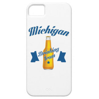 Michigan Drinking team iPhone 5 Cover