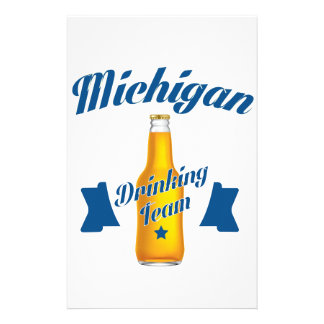 Michigan Drinking team Stationery