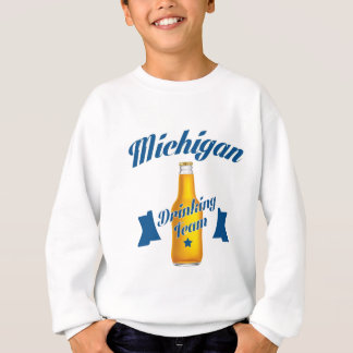 Michigan Drinking team Sweatshirt