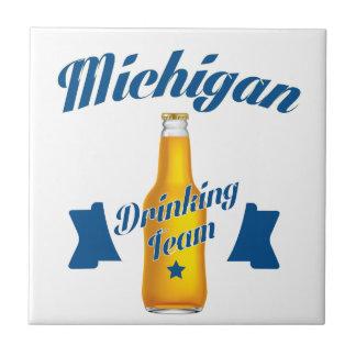 Michigan Drinking team Tiles