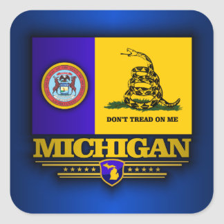 Michigan (DTOM) Square Sticker