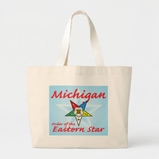 Michigan Eastern Star Large Tote Bag