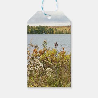 MIchigan Fall Floral Landscape Gift Tags