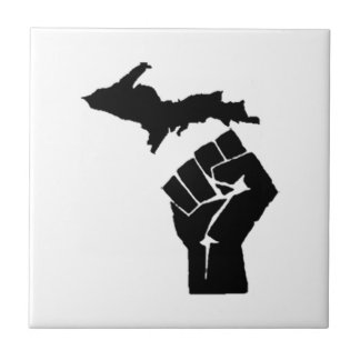 Michigan Fist Tile