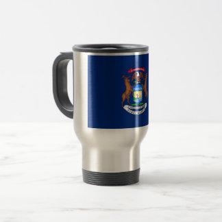 Michigan Flag Travel Mug
