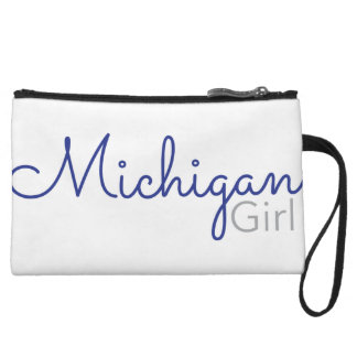 Michigan Girl Wristlet