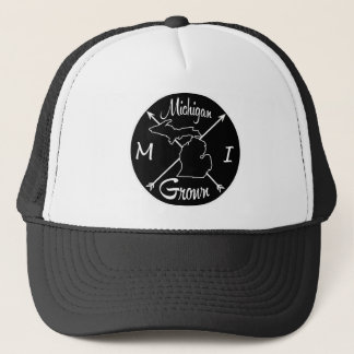 Michigan Grown MI Trucker Hat