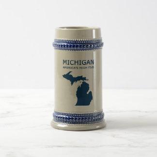 Michigan H5 Beer Stein