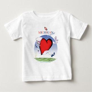 michigan head heart, tony fernandes baby T-Shirt