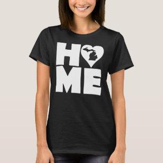 Michigan Home Heart State T-Shirt Tees