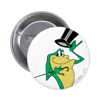 Michigan J. Frog in Color 2 Inch Round Button