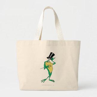 Michigan J. Frog in Color Jumbo Tote Bag