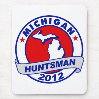 Michigan Jon Huntsman Mouse Pads