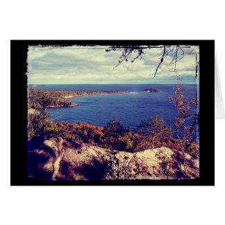 Michigan Lake Superior Scene Card