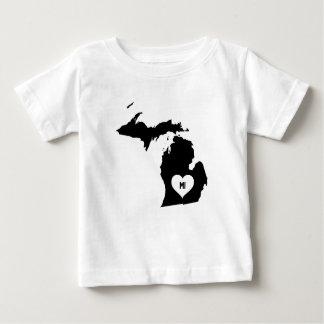 Michigan Love Baby T-Shirt