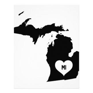 Michigan Love Letterhead
