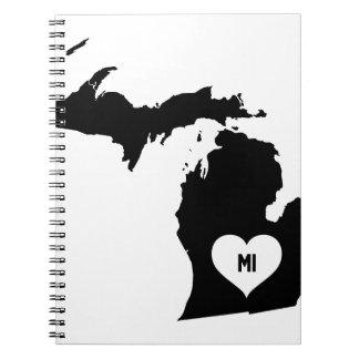 Michigan Love Notebooks