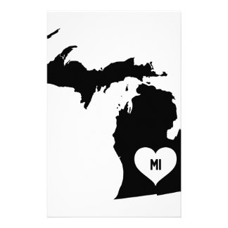 Michigan Love Stationery