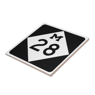 Michigan M-28 Tiles