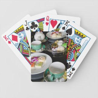 Michigan, Mackinac Island. Grand Hotel Poker Deck