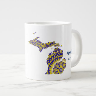 Michigan Mandala Jumbo Mug