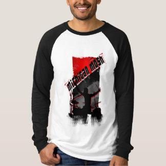 Michigan Mosh Drummer Logo T-Shirt