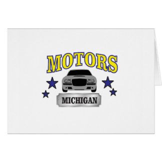 Michigan motors card