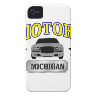 Michigan motors iPhone 4 Case-Mate cases