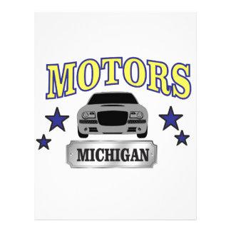 Michigan motors letterhead