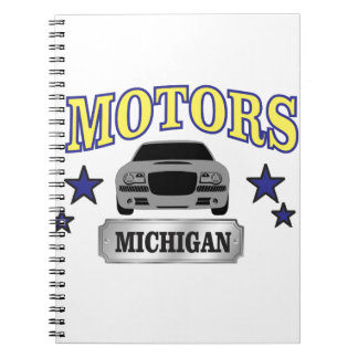 Michigan motors notebook