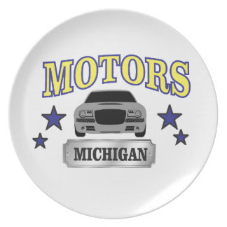 Michigan motors plate