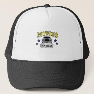 Michigan motors trucker hat