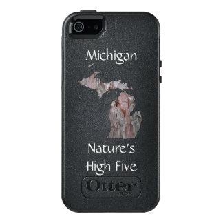 Michigan Nature's High Five Phone Case, White Pine OtterBox iPhone 5/5s/SE Case