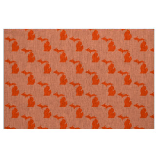 Michigan Orange Cotton Fabric