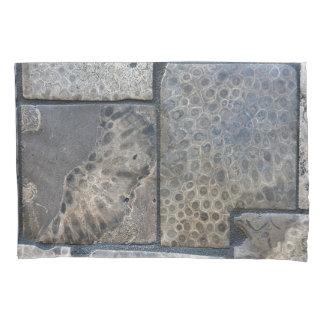 Michigan petoskey stone background pillowcase