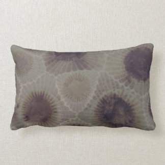 Michigan Petoskey Stone Lumbar Pillow