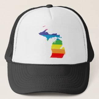 michigan pride. trucker hat