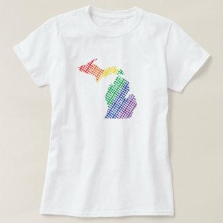 Michigan Rainbow State T-Shirt