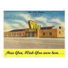 Michigan, Riverside Arena, Roller Skating Postcard