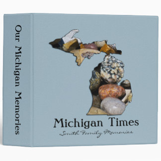 "Michigan Scrapbook Binder (2"")"