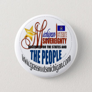 Michigan Sovereignty Button
