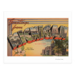 Michigan (State Capital/Flower) Post Cards