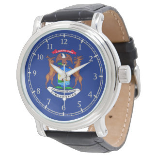 Michigan State Flag Watch Design