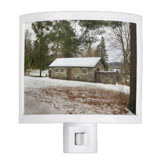 Michigan Stone Cottage Nightlight Nite Light