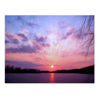 Michigan Sunset 1 Postcard