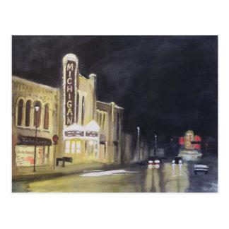 Michigan Theater Ann Arbor Postcard