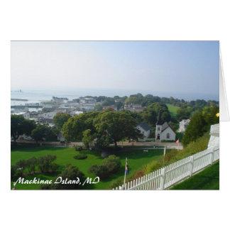 michigan_trip 084, Mackinac Island, MI Card