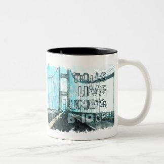 Michigan Trolls Two-Tone Coffee Mug